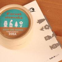 善书者BookMark 创意金属书签/森林 SQ-JS044 20枚盒装迷你卡通造型金属书签唯美可爱文艺小清新男女孩童