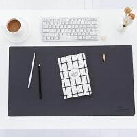 锁边办公桌垫加厚鼠标垫键盘垫 防滑写字台垫 写字垫子