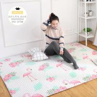 可定制 北欧纯棉家用满铺茶几爬行榻榻米地垫全棉卧室地毯可机洗