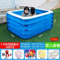 宝宝游泳池婴幼儿家用大号加厚婴儿大型家庭小孩儿童泳池充气水池