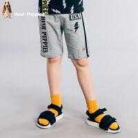 【3折价:69元】暇步士童装男童夏季纯棉时尚撞色五分裤