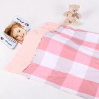 指向标 婴儿被子纯棉秋冬儿童幼儿园棉被儿抱被宝宝空调被子 140*120cm可拆洗外罩