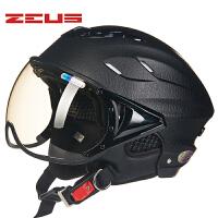 摩托车电动车头盔夏季防晒轻便半盔防紫外线男女士夏盔