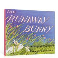 【全店300减100】88元选5 【送音频】英文原版美国百本绘本 The Runaway Bunny 逃家小兔 母子情深