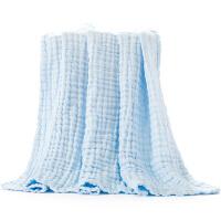 婴儿浴巾纯棉纱布浴巾新生儿毛巾包被儿童宝宝洗澡巾盖毯浴毯
