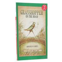 顺丰包邮 (99元5件)汪培�E推荐第三阶段英文原版I Can Read, Level 2 Grasshopper on