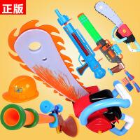 童励光头强电锯熊出没玩具正版授权电动发光锯子猎枪热卖玩具