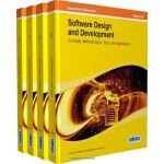 【预订】Software Design and Development: Concepts, Methodologie