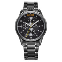 2018新款 美格尔男士手表 多功能防水夜光男表时尚手表