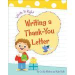【预订】Writing a Thank-You Letter