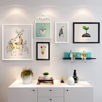 简约现代照片墙装饰 相框墙创意个性相框 挂墙组合客厅卧室相片墙