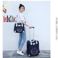 子母套装手提拉杆旅行包拉杆包女韩版轻便大容量短途拉杆袋行李包