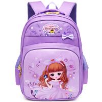 小学生双肩书包3-5年级女儿童书包小学1-3年级女背包女孩一年级男