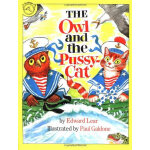 The Owl and the Pussycat(by Paul Galdone)猫头鹰和猫(经典童谣)ISBN978