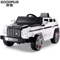 好加路虎儿童电动 车四轮可坐带遥控车越野婴儿电动汽车双驱童车