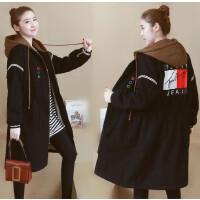 加大码女装冬装新款棉衣200斤胖mm显瘦遮肚子减龄中长款外套