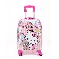 儿童拉杆箱万向轮18寸女宝宝行李箱卡通可坐骑旅行箱20寸小孩拖箱