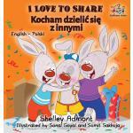 【预订】I Love to Share (Polish book for kids): English Polish