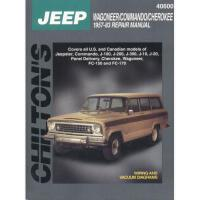 【�A�】Jeep Wagoner, Commando, and Cherokee, 1957-83