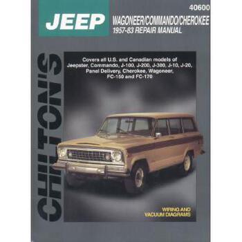 【预订】Jeep Wagoner, Commando, and Cherokee, 1957-83 美国库房发货,通常付款后3-5周到货!