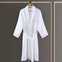 酒店浴袍男女士秋冬季棉睡袍浴袍毛巾料加厚棉吸水浴衣