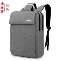 男女士商务背包电脑包15.6寸双肩包男笔记本14寸韩版学生双肩背包