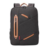 瑞士军刀15.6寸手提男士双肩电脑包时尚多袋休闲笔记本背包