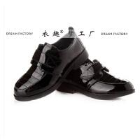 男孩黑色皮鞋 正式款黑色儿童皮鞋 影楼鞋子 摄影皮鞋 黑色皮鞋
