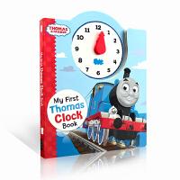 英文原版绘本 Thomas and Friends My First Thomas Clock Book 小火车托马斯