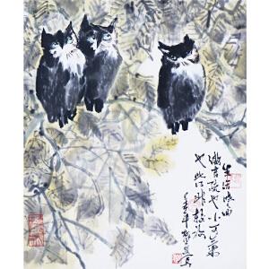 刘勇  《猫头鹰》  a542