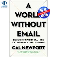 现货英文原版 没有邮件的世界 A World Without Email 有效工作法指南 精装 个人成长职能提升 职场个