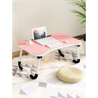 床上小桌子笔记本电脑桌学生学习书桌可折叠简易做桌懒人家用写字 3tp