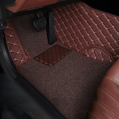 汽车脚垫新XV迈腾Q5汉兰达Q7锐界A6L夏朗脚垫双层全包围  需要发票、大件运费请联系客服,更多优品优惠等您来选购!