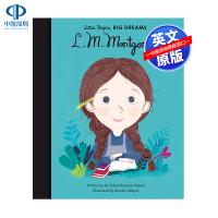 英文原版 小女孩,大梦想:露西・莫德・蒙哥玛利 L. M. Montgomery 名人传记 Little People,