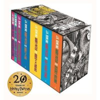 哈利波特套装全集(英国版) 英文原版 Harry Potter Boxed Set: The Complete Collection Adult木刻封面版