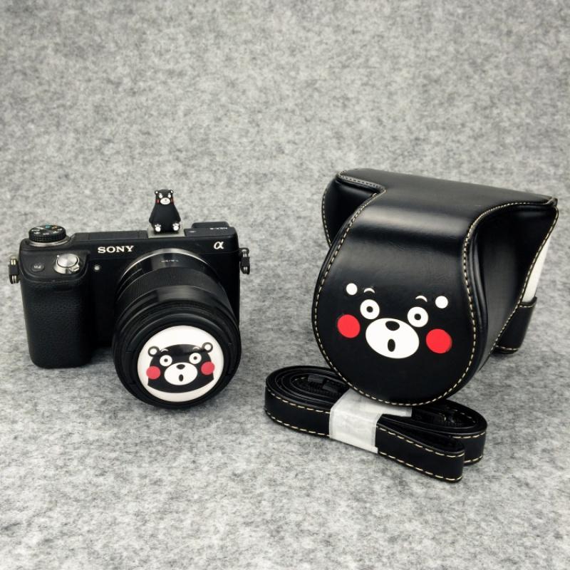 熊本可爱微单相机包相机套皮套索尼A5100 A6000 A5000 A6300EOSM6 发货周期:一般在付款后2-90天左右发货,具体发货时间请以与客服协商的时间为准