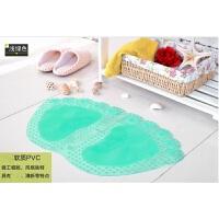 新款创意大脚丫按摩浴室防滑垫PVC地垫卫生间洗浴垫保健淋浴地垫 600MM*350MM