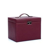 创意首饰盒公主带锁饰品盒化妆盒首饰收纳盒送女友爱人生日礼物