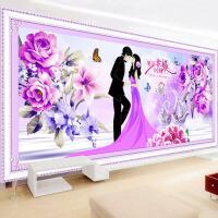 钻石画满钻喜庆客厅浪漫情侣 贴钻十字绣结婚款婚纱款幸福约定