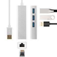USB扩展坞老款Macbook苹果电脑USB网线转换器VGA转接头连接投影仪以太网网口 银色【老款Macbook Ai