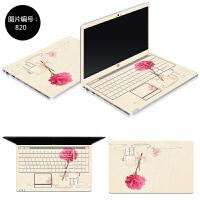 15.6寸笔记本外壳保护贴膜宏�AcerTMP257 258电脑免裁剪炫彩贴