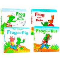 【全店300减100】Frog is Frog进口英文原版图书绘本套装全12册 儿童故事绘本幼儿睡前故事心理成长图画书读