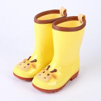 卡通儿童雨鞋男童女童水鞋婴幼儿宝宝学生胶鞋中筒雨靴