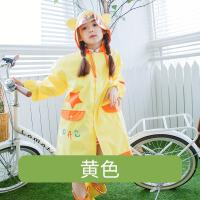【支持礼品卡】儿童雨衣男童女童幼儿园宝宝小孩儿童雨披带书包位小学生雨衣 jt3