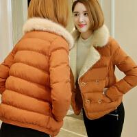 女装冬装新款短款棉衣韩版韩国面包服显瘦小棉袄外套