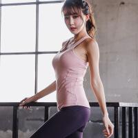 韩版瑜伽服健身运动套装女2018背心长裤修身显瘦专业跑步高弹速干