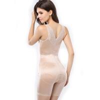 束身美体内衣薄款收腰收腹提臀连体塑身衣开档衣