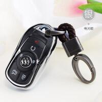 适用于别克昂科威18款新君越君威GL8GL6昂科拉汽车钥匙包女套壳扣 汽车用品