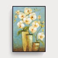 客厅装饰画沙发背景墙挂画美式平安树壁画现代欧式墙画大气墙面画 60*80 神秘黑简约画框 一副价格