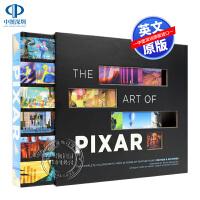 现货英文原版 皮克斯25周年艺术设定集 带镂空设计书套 从25年的故事片完整的彩色脚本 迪士尼 冰雪奇缘 周边 进口正版